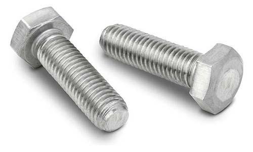 ASTM A453 Grade 660 Hex Cap Screws